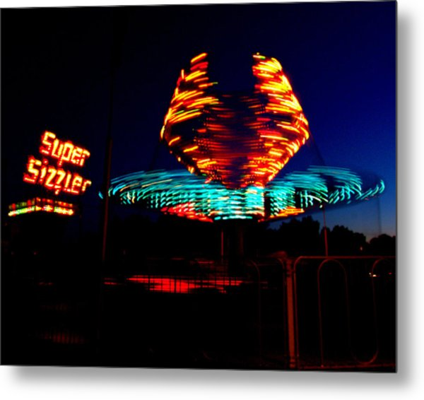Sizzler Metal Print by Jessica Duede