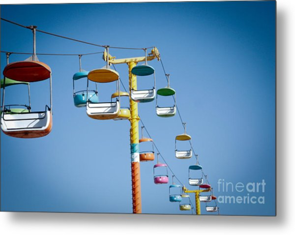 Sky Seats Metal Print by David Taylor