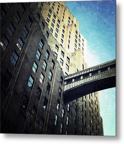 Skyscraper Passage (east 24th St) Metal Print