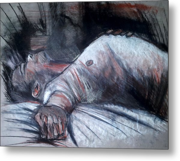 Sleep Metal Print