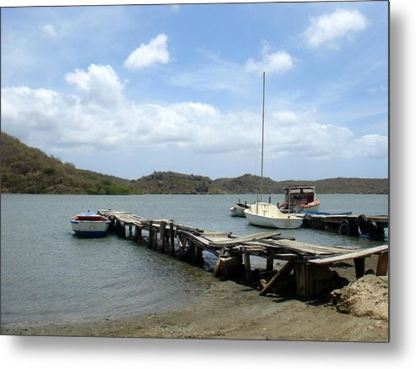 Small Harbour Metal Print by Marlon Scoop
