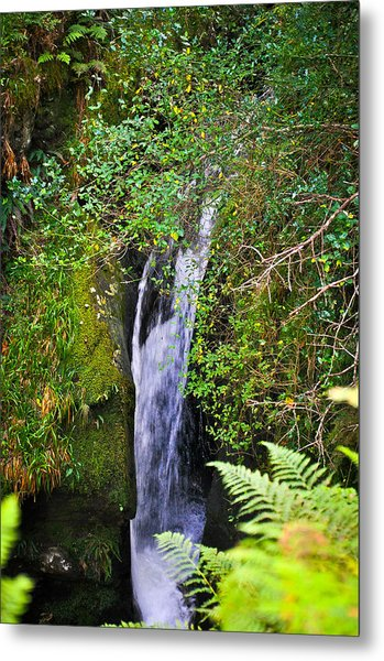 Small Waterfall Metal Print by Erica McLellan