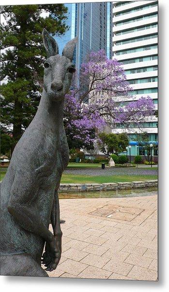 Smith Kangaroo Metal Print by Gregory Smith