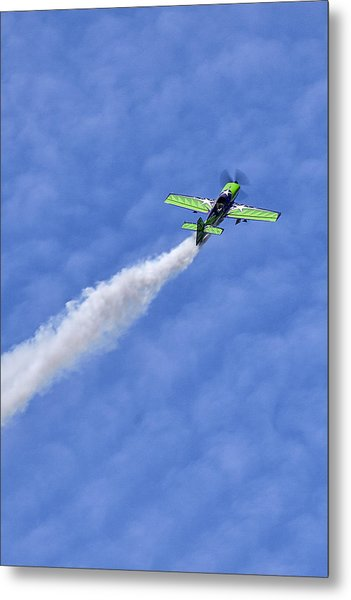 Smoke Trail Metal Print by Sara Hudock