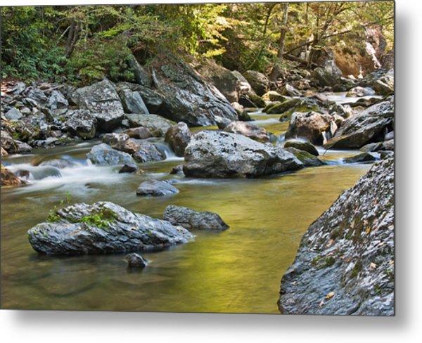 Smoky Mountain Streams II Metal Print