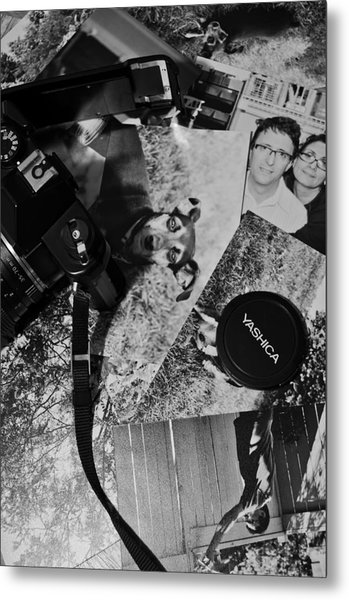 Snapshot Memories Metal Print by Aryan Ganji