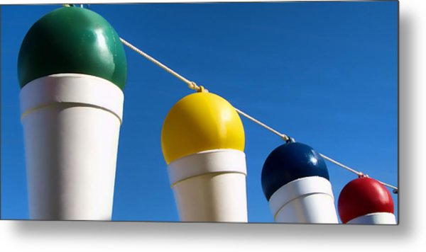 Snow Cones On A Rope Metal Print by Tony Grider