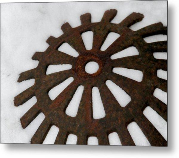 Snowflake Metal Print by Odd Jeppesen