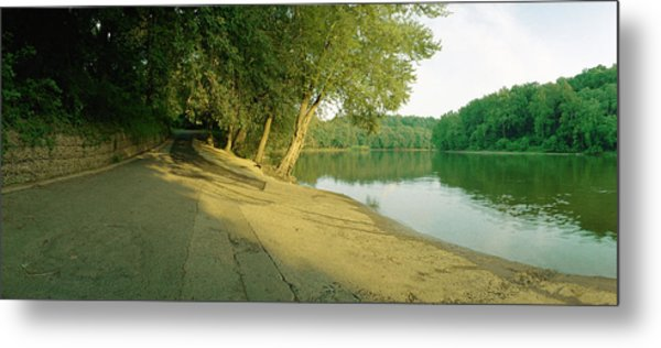 Snyders Landing On The Potomac Metal Print by Jan W Faul
