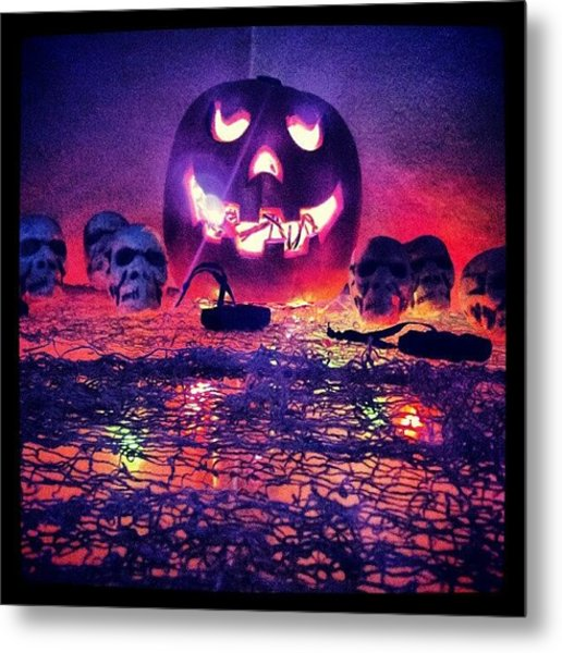 So Ready For Halloween ! Metal Print