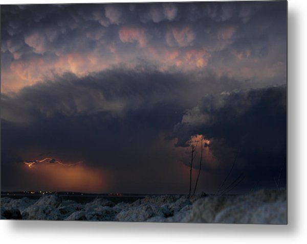 Soft And Sharp Metal Print by Loren Rye