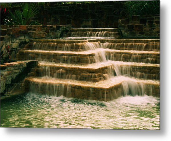 Soft Waterfall Metal Print