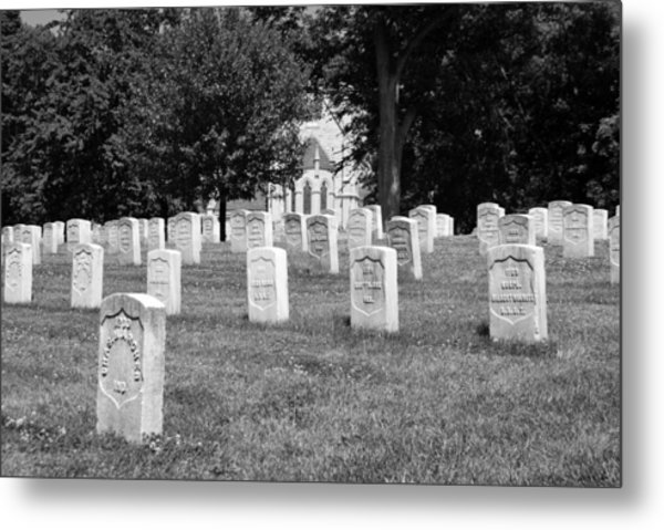 Soldiers At Rest Metal Print