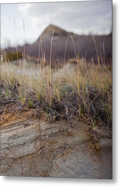 Solitude Beyond The Hill Metal Print by Jesse Pickett