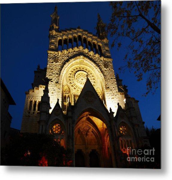 Soller Cathedral Metal Print