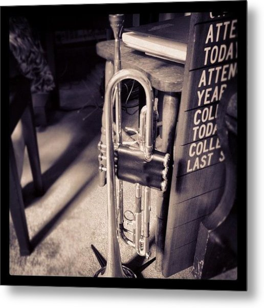 Some Music On A Sunday Morning Metal Print