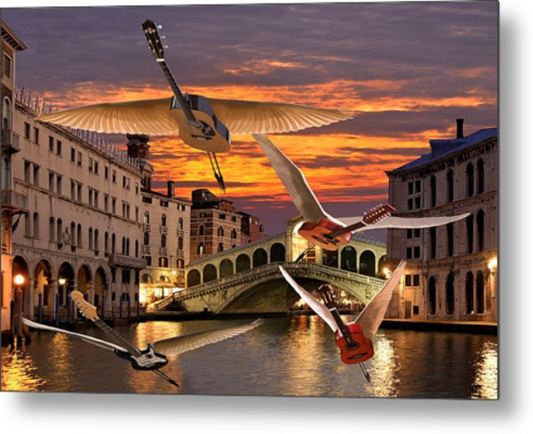 Metal Print featuring the digital art Someone Like You Rocks by Eric Kempson