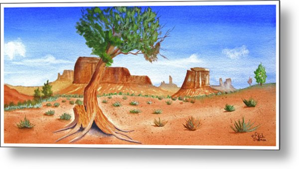 Somewhere In The Southwest Metal Print