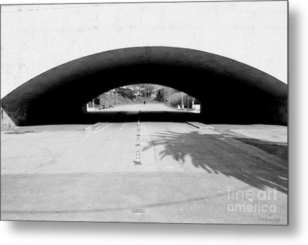 Under The Bridge -- Sotto Il Ponte Metal Print