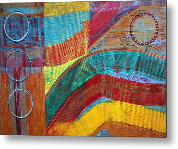 Sound In Motion Metal Print by Connie Carleton