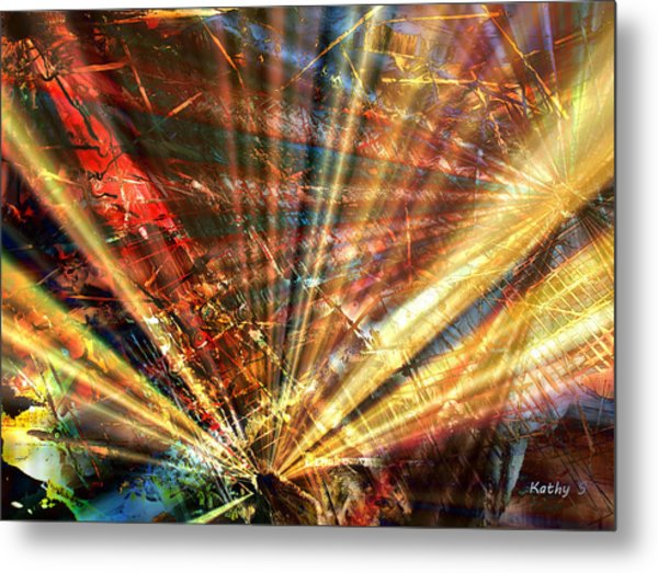 Sound Of Light Metal Print