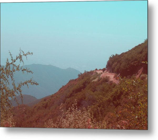 Southern California Mountains Metal Print
