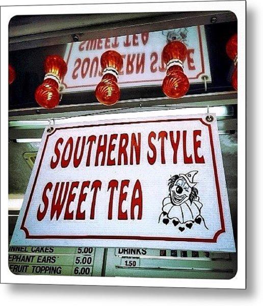 Southern Sweetness Metal Print