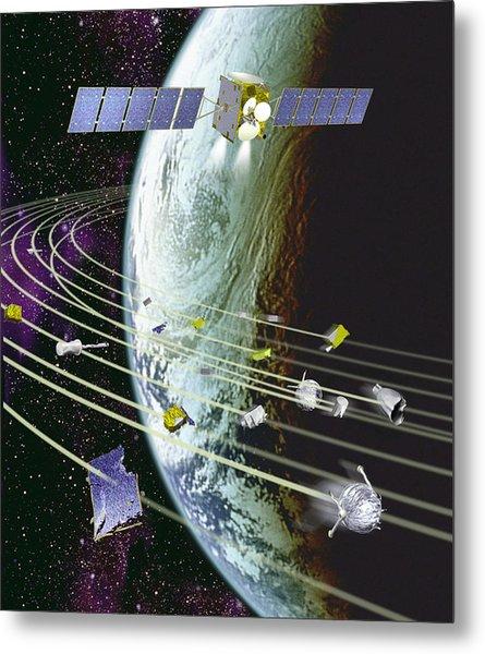 Space Debris Metal Print by David Ducros