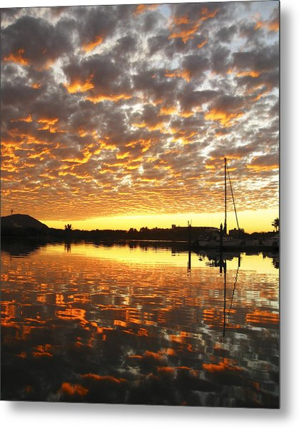Spectacular Mazatlan Sunset Metal Print