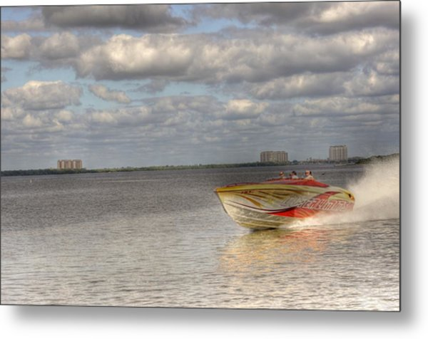 Speed Metal Print by Barry R Jones Jr