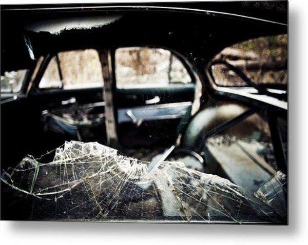 Spider's Window Metal Print