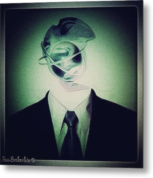 Spin Doctor - Design - Metal Print