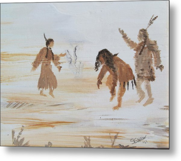 Spirit Dance Metal Print