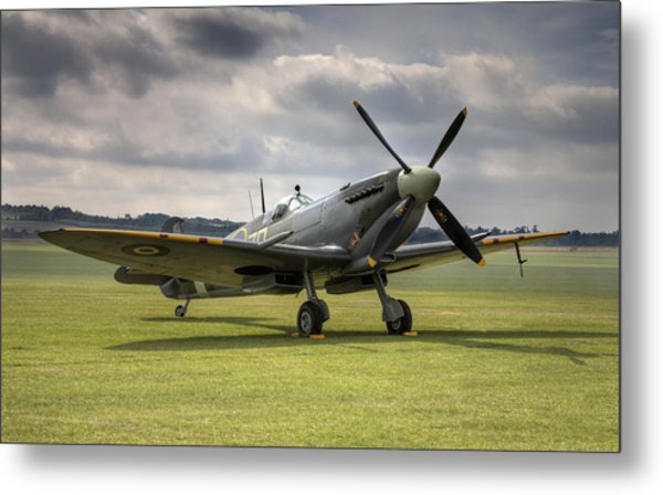 Spitfire Ready To Go Metal Print