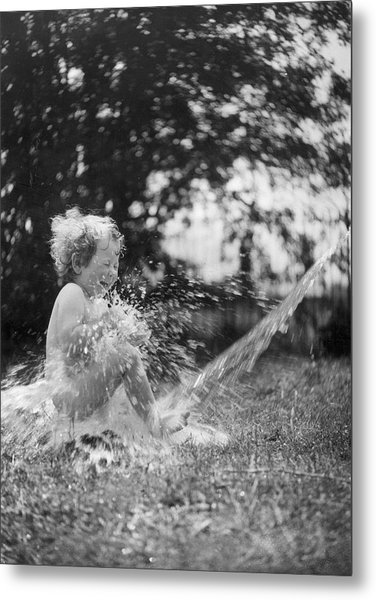 Splish Splash Metal Print by Norman Smith