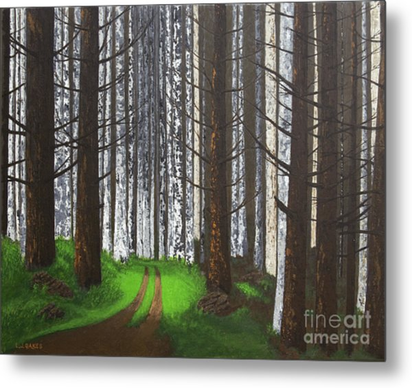 Spring After The Fire Metal Print