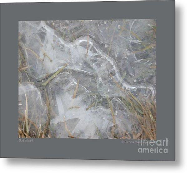 Spring Ice-i Metal Print