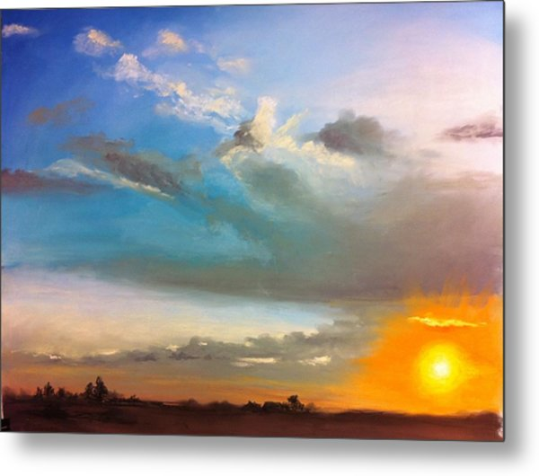 Springfield Sunset Metal Print by Prashant Shah