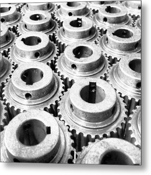 Sprockets Metal Print