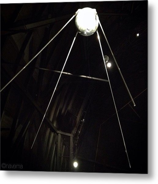 Sputnik 1: Space Age Began On Oct. 4th Metal Print