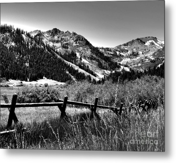 Squaw Valley At Lake Tahoe Metal Print