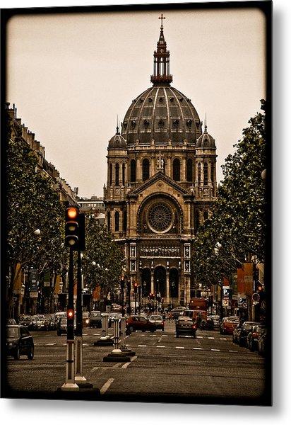 Paris, France - St. Etienne Metal Print