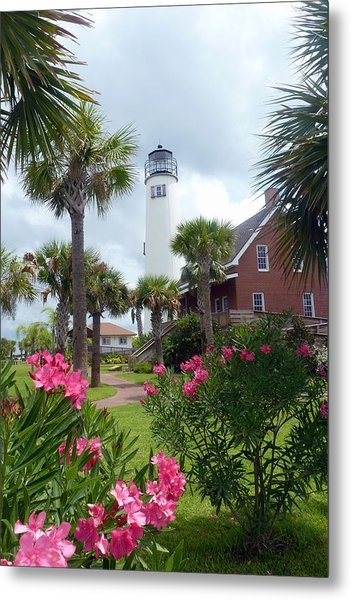 St. George Island Lighthouse Metal Print