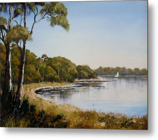 St Georges Basin - Early Morning Metal Print