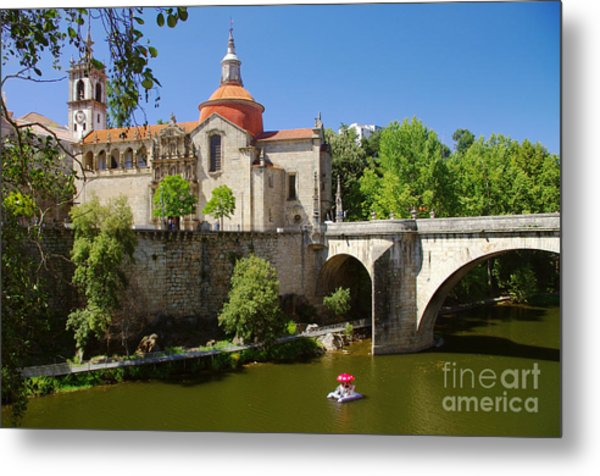 St Goncalo Cathedral Metal Print