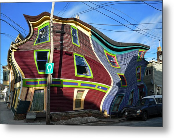 St Johns Street House Metal Print by Geoff Evans