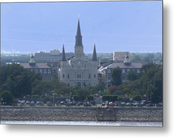 St. Louis Cathedral 2 Metal Print