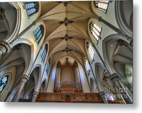 St Louis Church 8 Metal Print by Chuck Alaimo