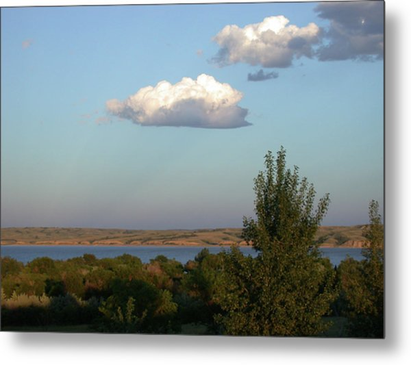 Stacked Cumulus Metal Print