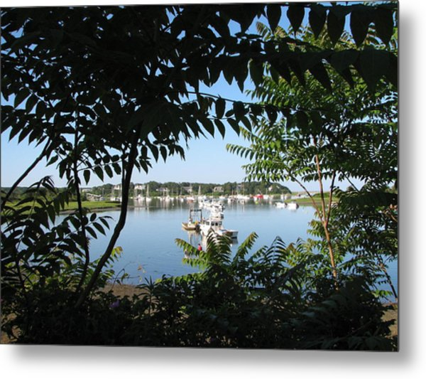 Stage Island Metal Print by Heather Gwyn Twomey